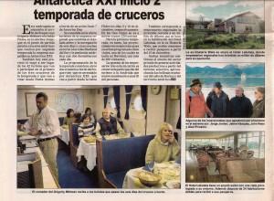 159)La Prensa Austral (Chile) 30.11.04