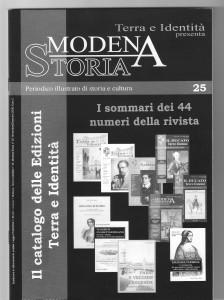 178)Modena Storia Catalogo nov. 08