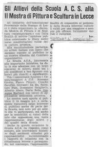 17)CAPRONE (Lecce) maggio 1968
