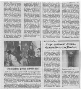74)Gazzetta. Foto e testo Giò. 7.1.03