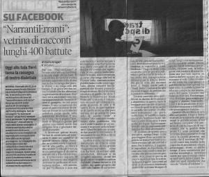 410) NarrantiErranti - Gazzetta 13.1.12