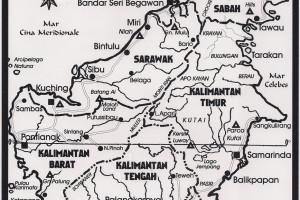 BORNEO – Mappe varie