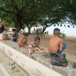 131) Areia Branca beach on Sunday