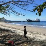 145) the Laju Laju ferry to Dili at the Beloi pier