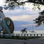 16) sea promenade of Av Marginal