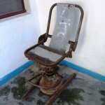 212) a torture chair - Comarca Balide prison (CAVR), the museum of horrors of indonesian occupation