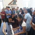 223) Subday ceremony at the church of St Antonio Motael