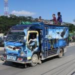 245) Timor-Leste transport, a race between imaginative bright colors designs