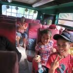 3) bus to Baucau