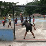 34) kids play all day, Old Baucau (Kota Lama - Old Town)