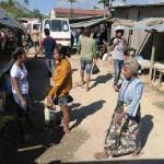 45) Baucau Baru (New Baucau), a moltitude of rusty corrugated-metal roofs with a great market