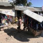 46) Baucau Baru (New Baucau), a moltitude of rusty corrugated-metal roofs with a great market