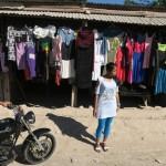 47) Baucau Baru (New Baucau), a moltitude of rusty corrugated-metal roofs with a great market